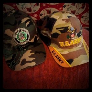 Vintage USArmy caps